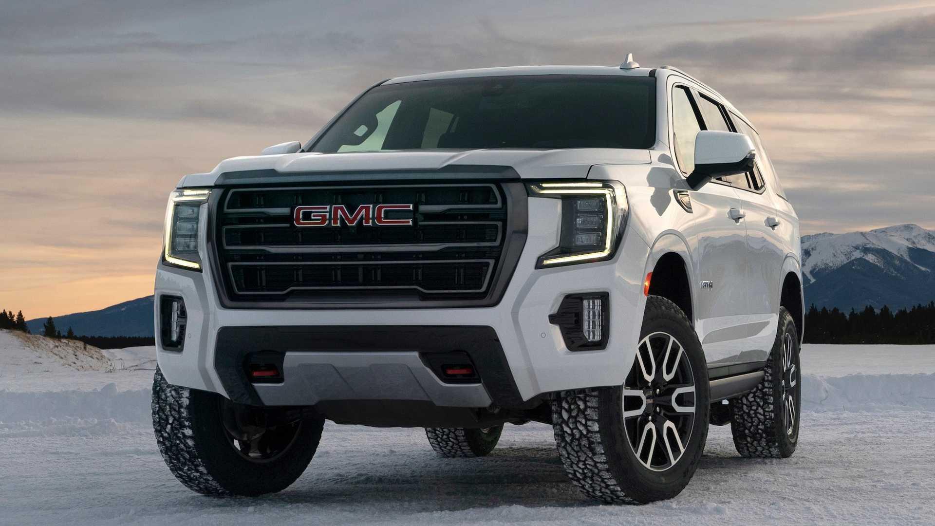 2021 GMC Yukon 'Hurricane Turn' Lets Big SUV Spin In Place
