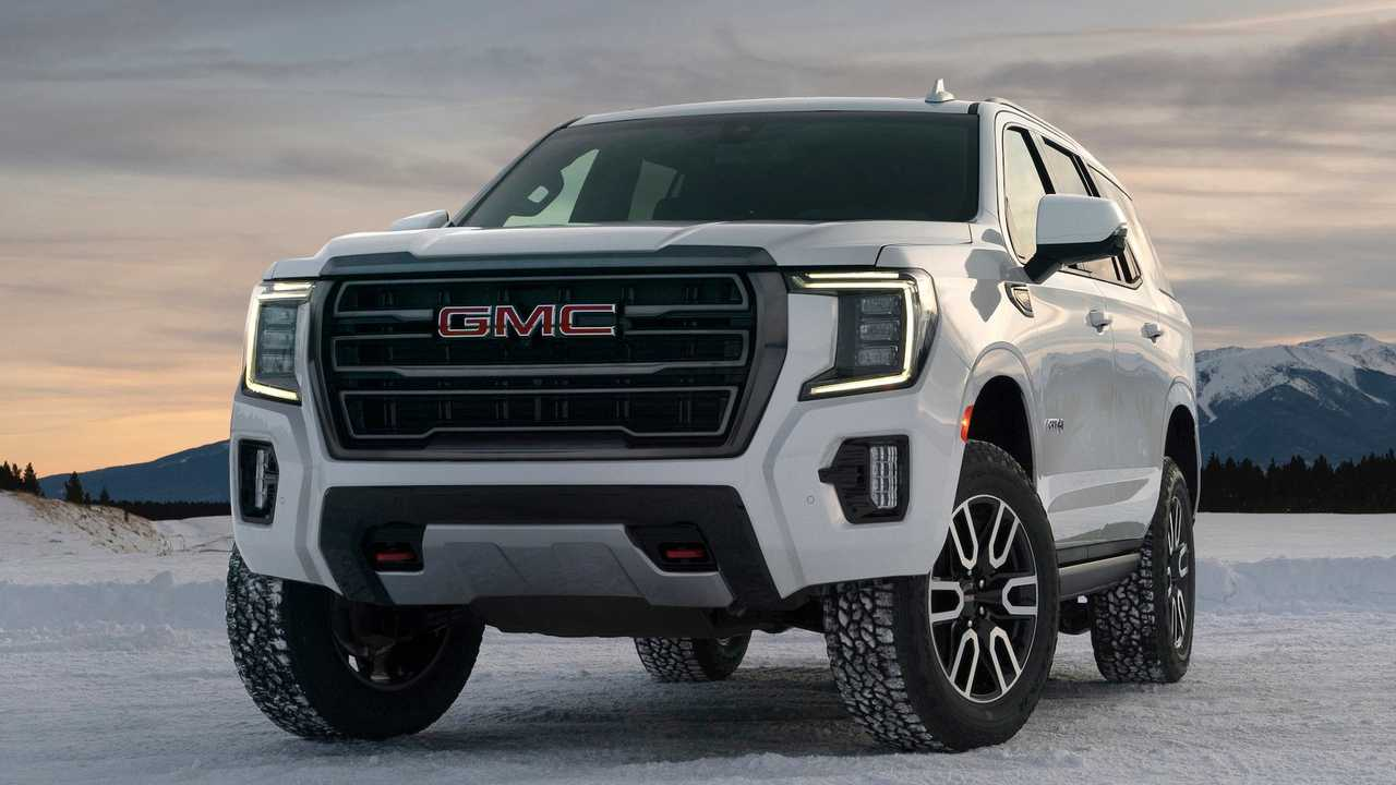 2021 GMC Yukon 'Hurricane Turn' Lets Big SUV Spin In Place