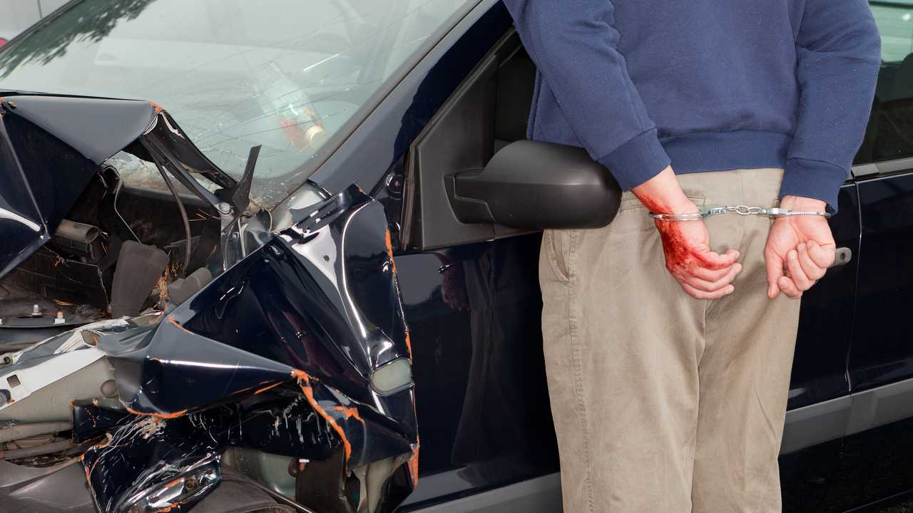 Drunk driver arrested after car crash