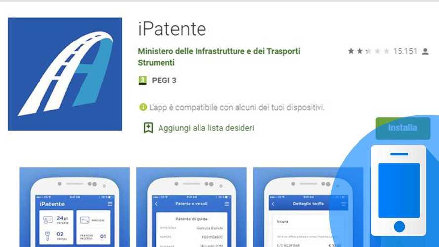 iPatente, come funziona l'app per controllare i punti patente