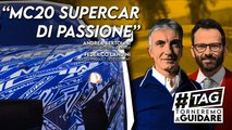 maserati mc20 intervista torneremo a guidare