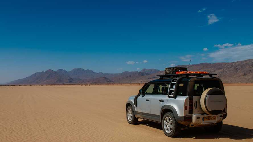 Land Rover Defender 2020, prueba en Namibia