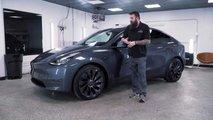 Tesla Model Y festékhibák