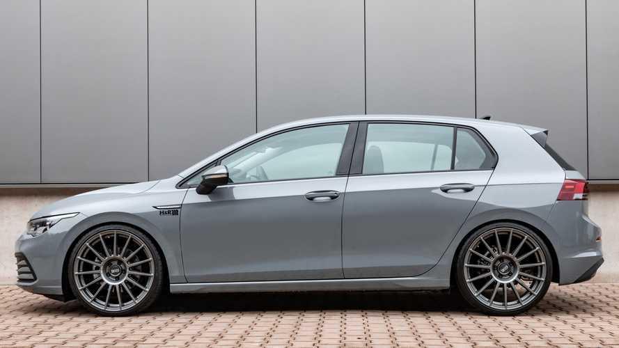 ¿Qué te parece este Volkswagen Golf, preparado por H&R?