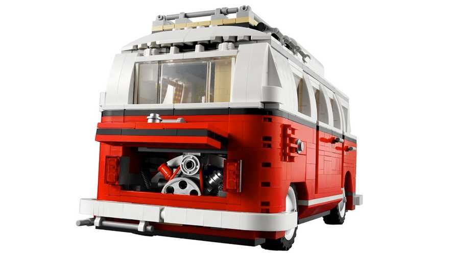 "Volkswagen ""Bulli"" T1 California Lego"