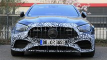 2021 Mercedes-AMG E63 Wagon facelift spy photos
