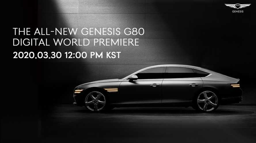 2021 Genesis G80 Full Reveal Set For March 30