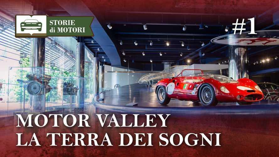 Storie di Motori, una nuova serie per scoprire la storia dell'auto