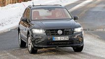 Volkswagen Tiguan GTE, le spy photo