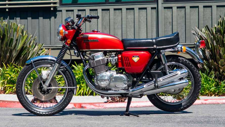 "This Honda CB750 ""Sandcast"" Is Up For Auction"