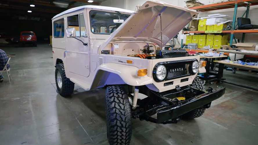 Vintage Air Helps Electric GT Cool This Toyota FJ40 EV Conversion