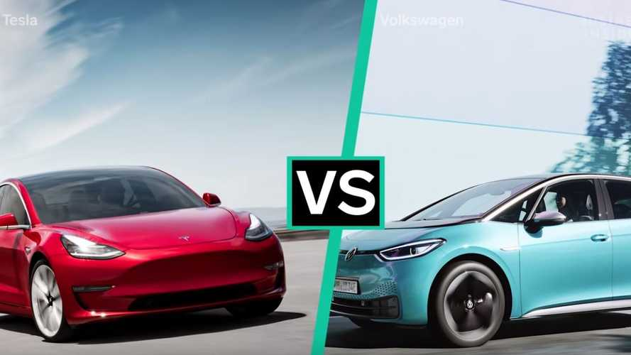 Volkswagen ID.3 Compared To Tesla Model 3
