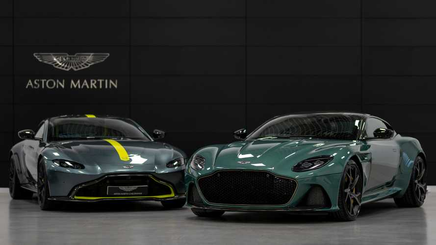 Aston Martin '59 Edition' models arrive in Cheltenham