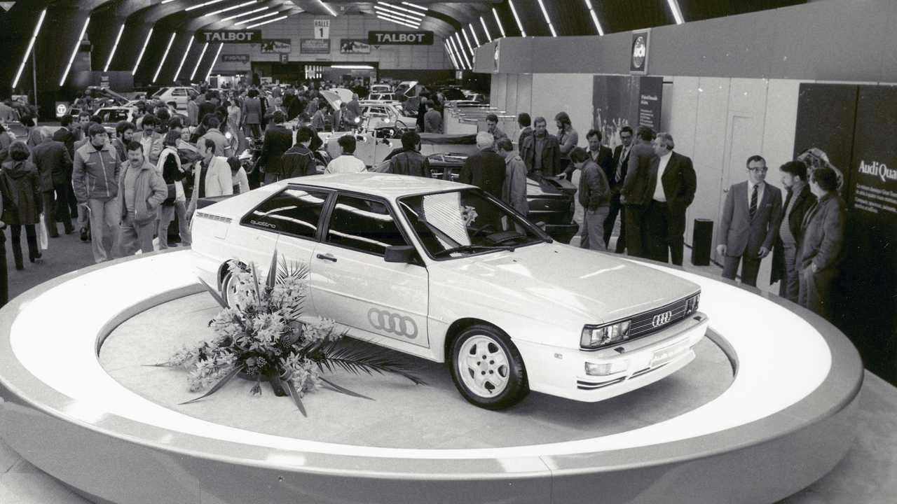 L'Audi Quattro a 40 ans