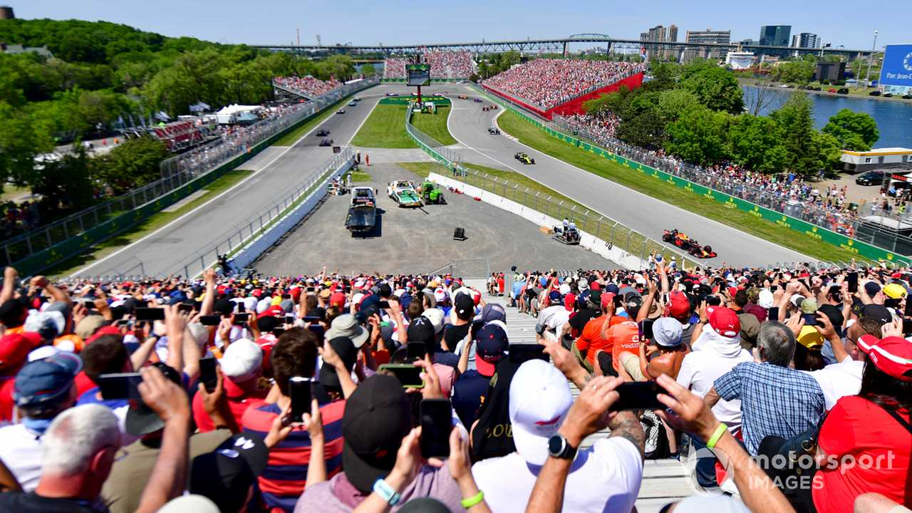 Canadian GP 2019 first lap