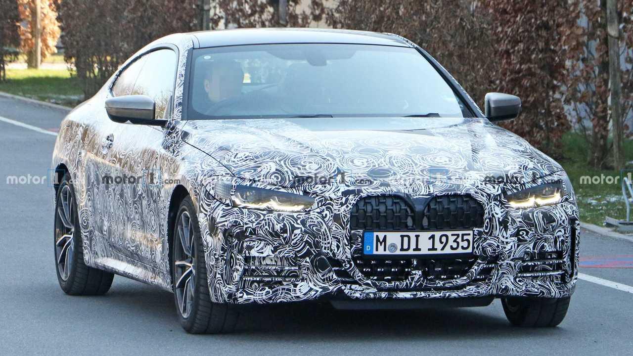 Flagra: Novo BMW Série 4 2020