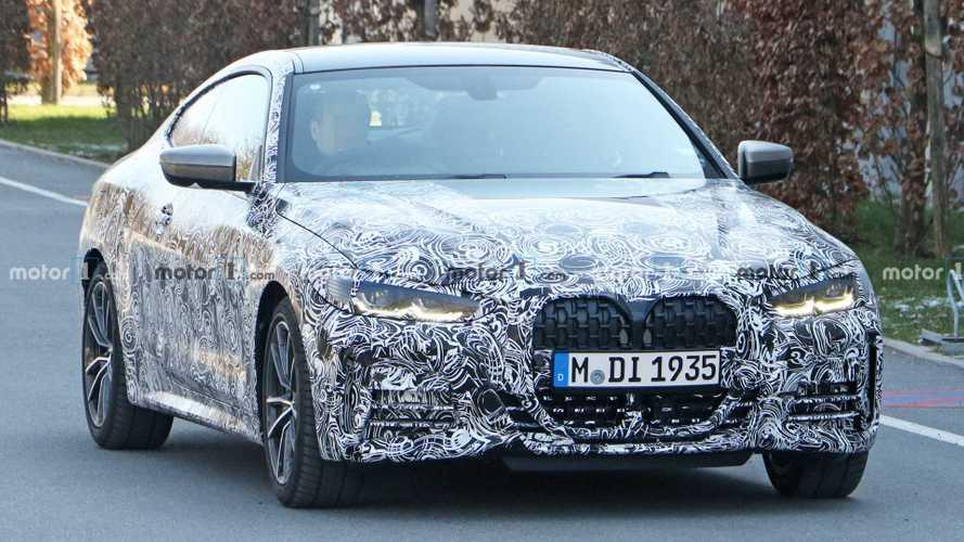 Novo BMW Série 4 2020, com grade tipo bocão, será lançado em junho