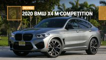 2020 bmw x4 m competition suv review
