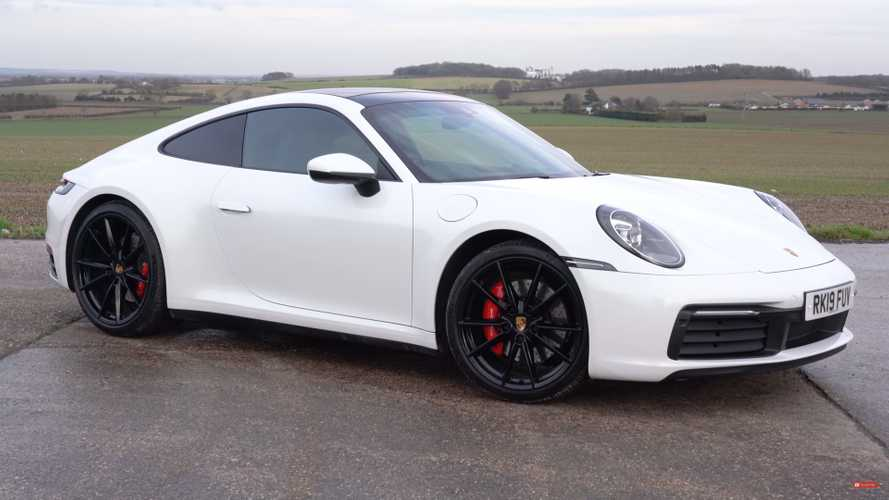 Can A Porsche 911 On Snow Tires Carve Corners At A Race Track?