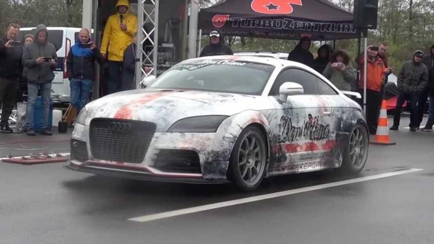 Vídeo: ¿cómo acelera un Audi TT RS con 1.300 CV?