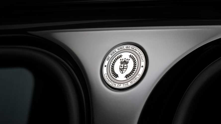 Anthony Joshua's Range Rover