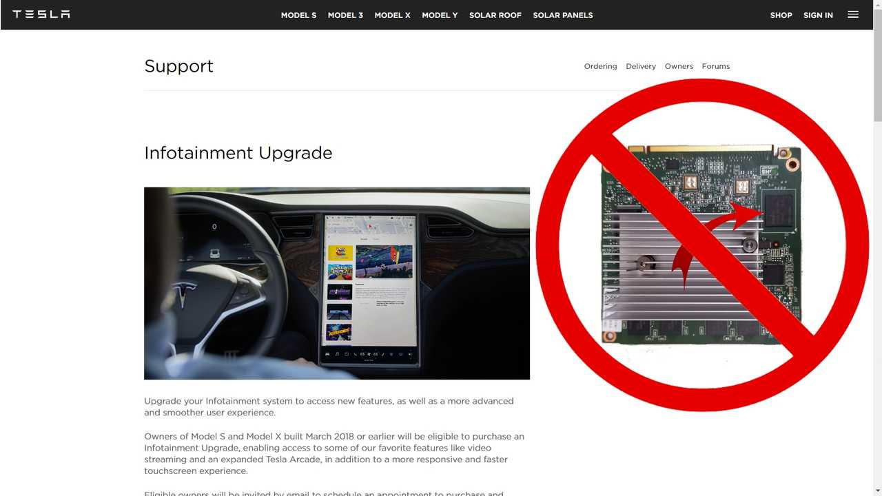 Tesla Finally Offers Infotainment Upgrade For MCUv1-Equipped Cars