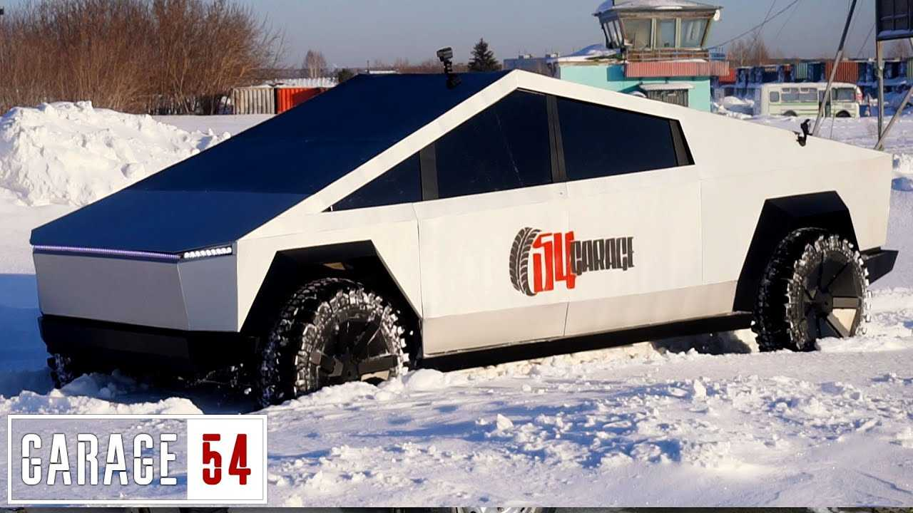 Tesla Cybertruck replica