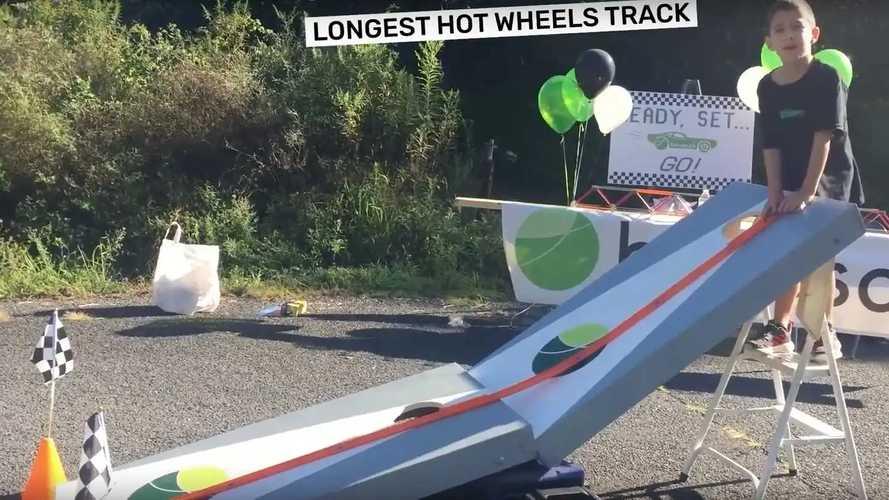 Самый длинный в мире трек Hot Wheels