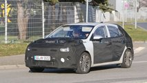 2021 Kia Rio facelift spy photos
