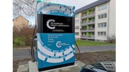 Volkswagen Delivered 12 Mobile Charging Stations In Wolfsburg