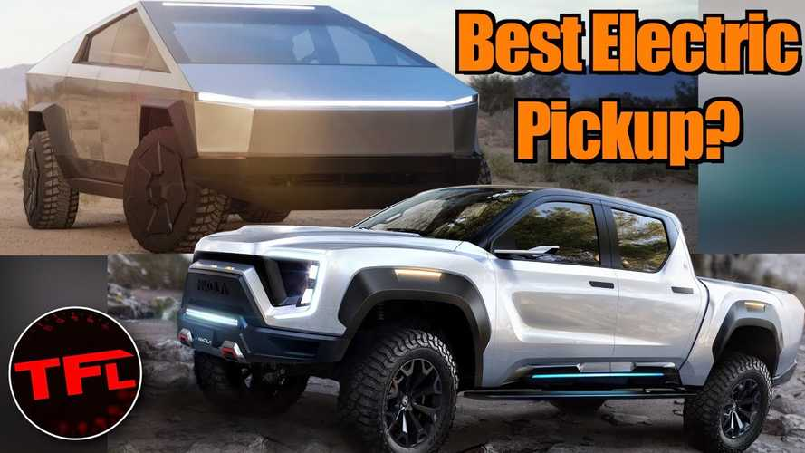 Nikola Badger Electric Pickup To Challenge Tesla Cybertruck?