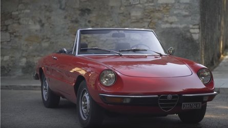 Father and son reflect on 1971 alfa romeo spider 1300 junior