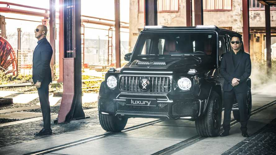 Invicto, un espectacular Mercedes-Benz Clase G blindado