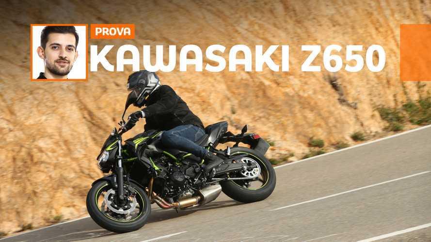 Kawasaki Z650 – TEST