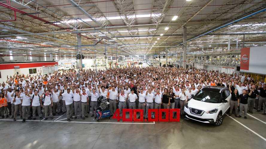 Nissan chega aos 400 mil carros produzidos em Resende (RJ) com Kicks