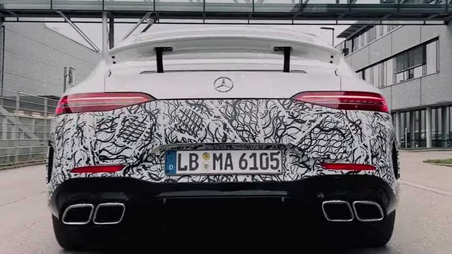 Mercedes-AMG GT 73 teased ahead of electrifying debut in 2020