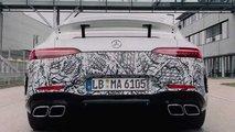 Тизер Mercedes-AMG GT 73