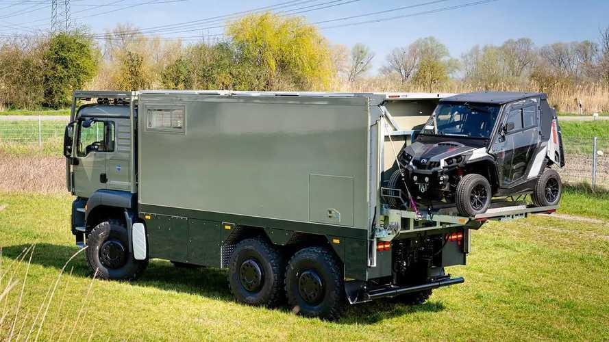 Unicat MD56c, basado en un camión MAN TGS 6x6