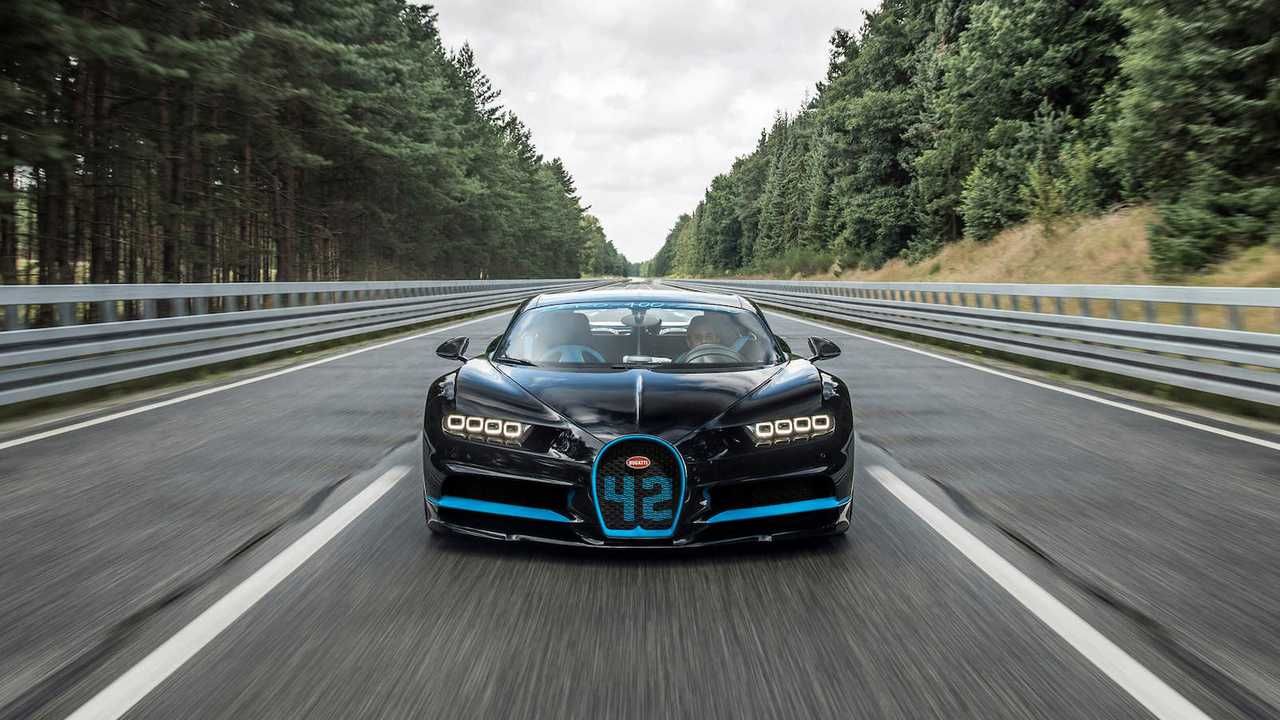 Bugatti Chiron: 0-400-0 km/h in 42 seconds!