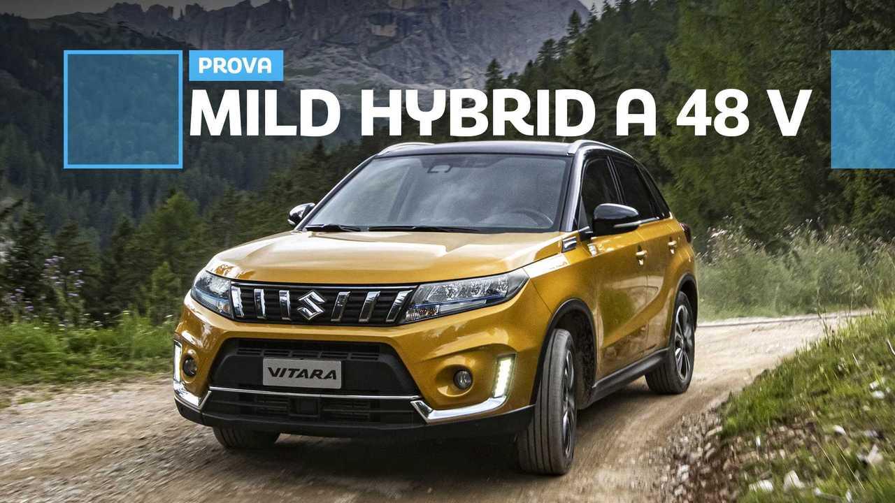 Suzuki Vitara Hybrid, prova su strada