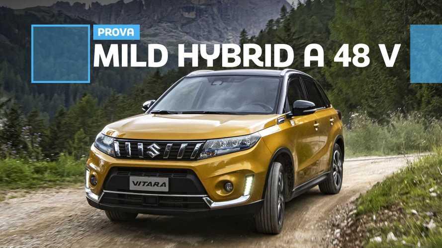 Suzuki Vitara Hybrid: più corrente, minori consumi