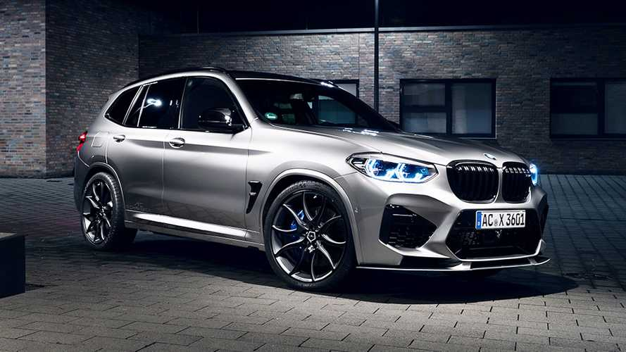 BMW X3 M Competition, con AC Schnitzer arriva a 600 CV