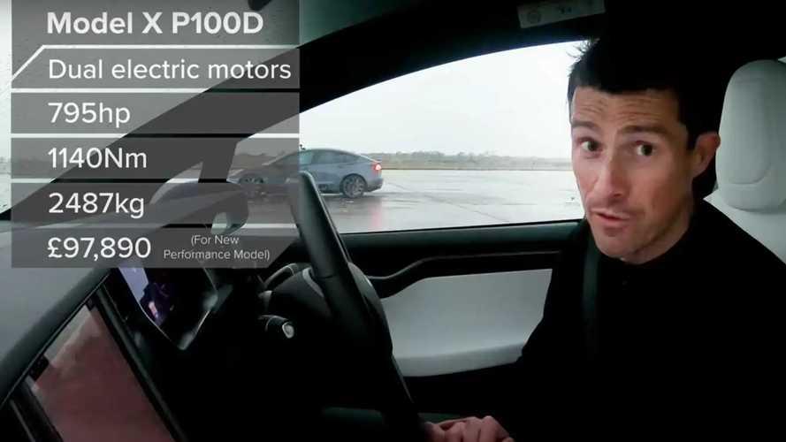 Tesla drag race numbers comparison