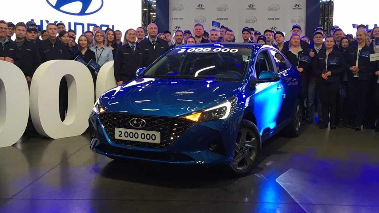 Обновленный Hyundai Solaris: живые фото