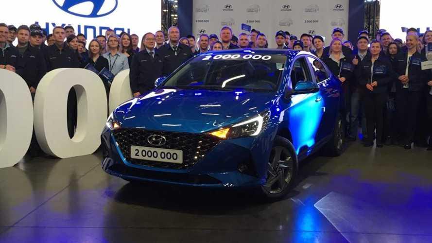 Hyundai показала россиянам обновленный Solaris: живые фото