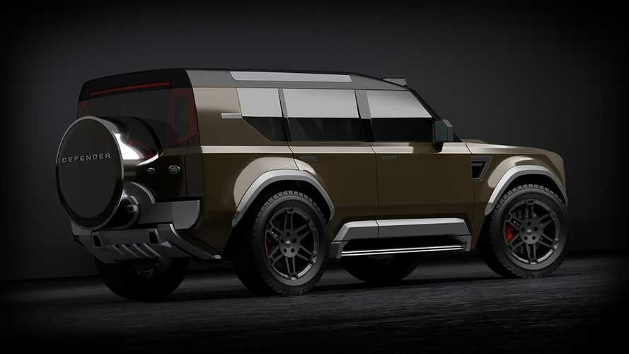 Render Land Rover Baby Defender