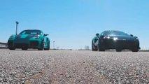 Porsche 911 GT2 RS vs McLaren 600LT