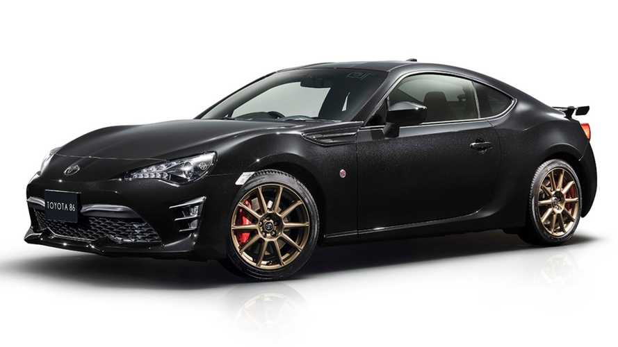 Toyota 86 Black Limited Revealed To Celebrate The Iconic AE86