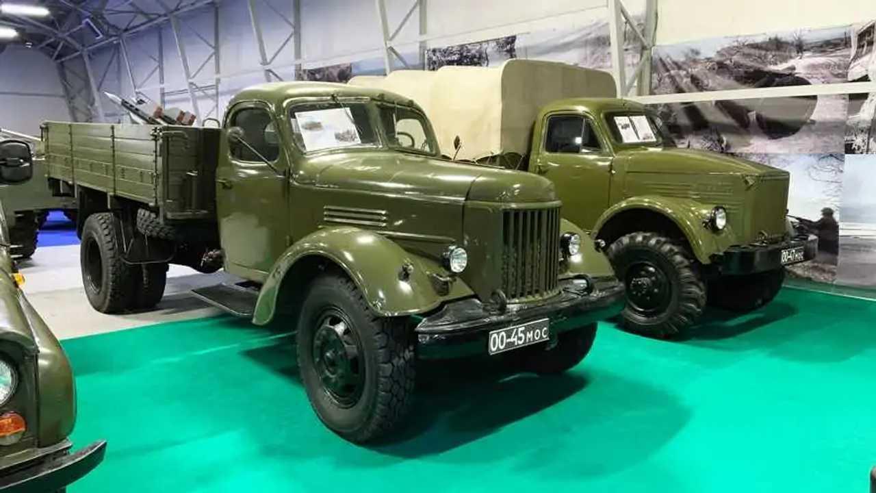 Vergessene Militärfahrzeuge der UdSSR: ZIL-164