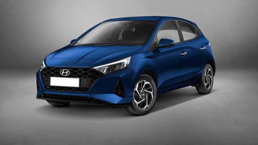 Projeção: Como ficaria o Hyundai HB20 com a cara do novo i20?